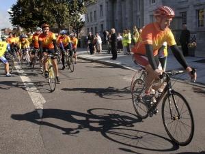 Seán Kelly leads out the 7th Tour de Munster
